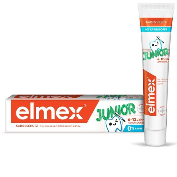 Элмекс зубная паста Джуниор 6-12лет 75мл купить в Москве по цене от 274 рублей
