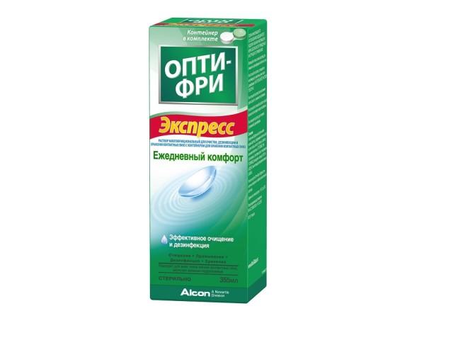 Опти фри экспресс раствор д/линз 355мл купить в Москве по цене от 322 рублей