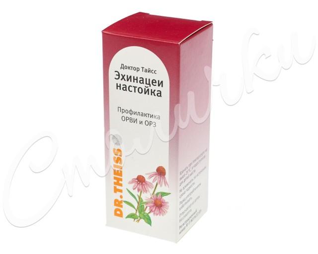 Доктор Тайсс Эхинацея настойка 50мл купить в Москве по цене от 302 рублей