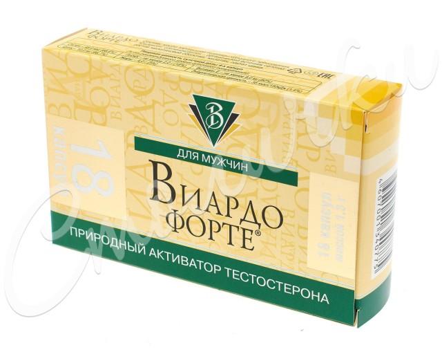 Виардо-форте капсулы 1г №18 купить в Москве по цене от 318 рублей