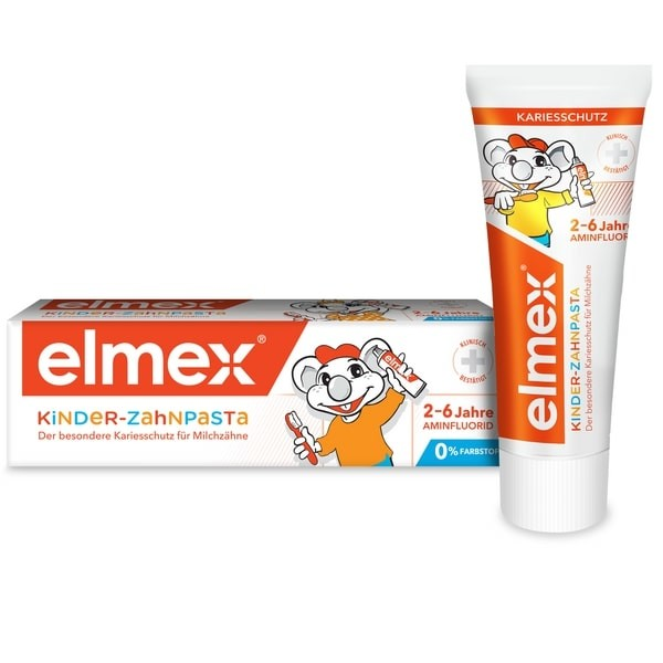 Элмекс зубная паста для детей 50мл купить в Москве по цене от 262 рублей