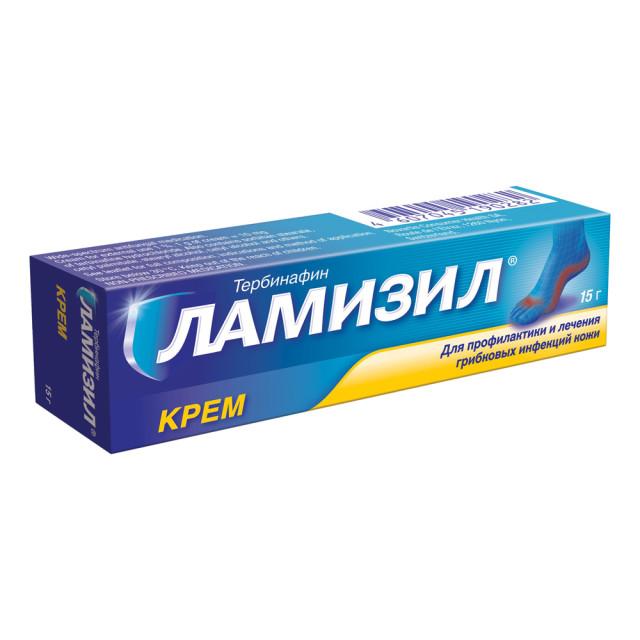 Ламизил крем 1% 15г купить в Москве по цене от 580 рублей