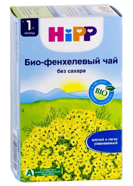 Хипп чай детский Био фенхель с 1 мес. 1,5г №20 купить в Москве по цене от 335 рублей