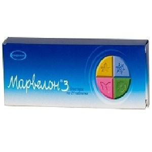 Марвелон таблетки №21 купить в Москве по цене от 1550 рублей