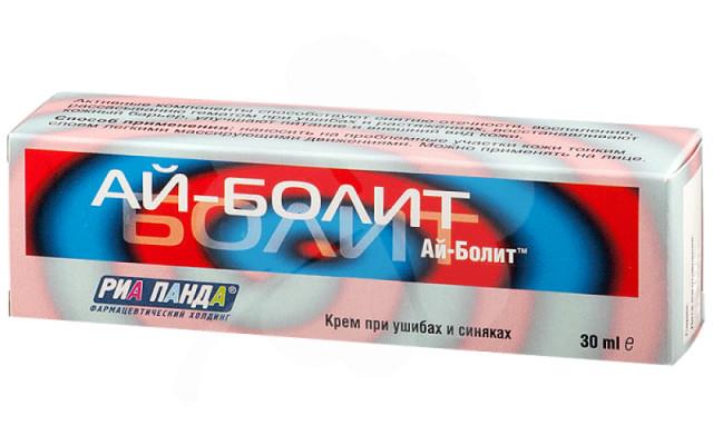 Айболит крем при ушибах и синяках 30мл купить в Москве по цене от 152 рублей