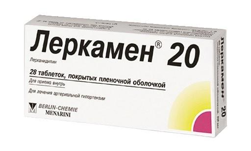 Леркамен 20 таблетки 20мг №28 купить в Москве по цене от 663 рублей