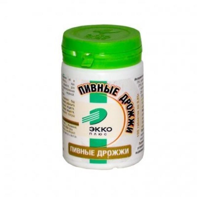 Дрожжи пивные Экко плюс таблетки №160 купить в Москве по цене от 0 рублей