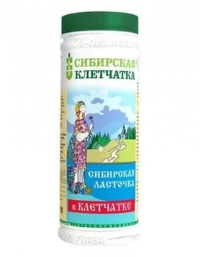 Сибирская ласточка в клетчатке 170г купить в Москве по цене от 104 рублей