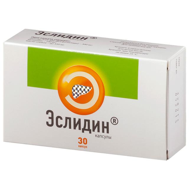 Эслидин капсулы №30 купить в Москве по цене от 580 рублей