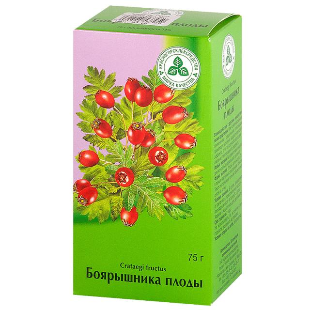 Боярышник плоды 75г купить в Москве по цене от 62 рублей