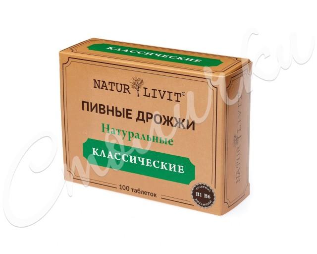 НатурЛивит дрожжи пивные таблетки №100 купить в Москве по цене от 220 рублей