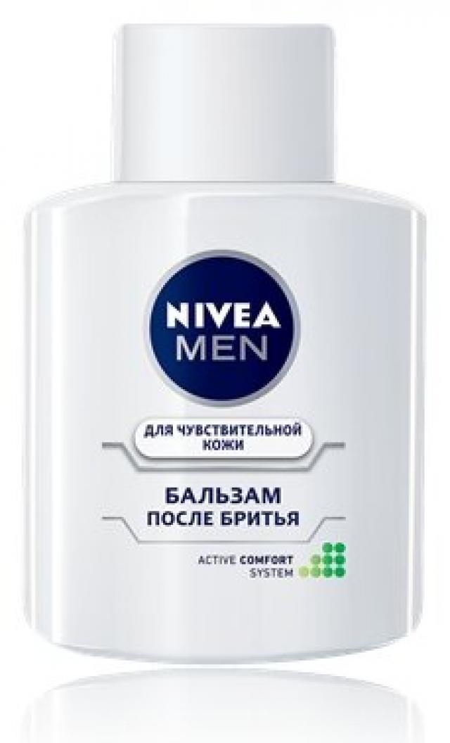 Нивея Мен бальзам после бритья для чувствительной кожи 100мл 81306 купить в Москве по цене от 485 рублей