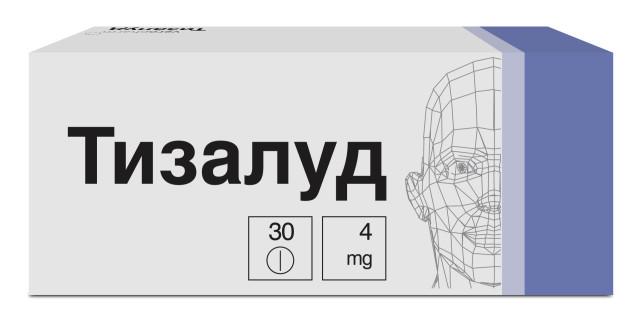 Тизалуд таблетки 4мг №30 купить в Москве по цене от 211 рублей