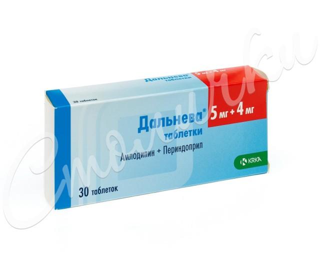 Дальнева таблетки 5мг+4мг №30 купить в Москве по цене от 398 рублей