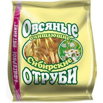 Отруби Сибирские овсяные очищающий 200г купить в Москве по цене от 104 рублей