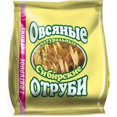 Отруби Сибирские овсяные натур. 200г купить в Москве по цене от 52 рублей