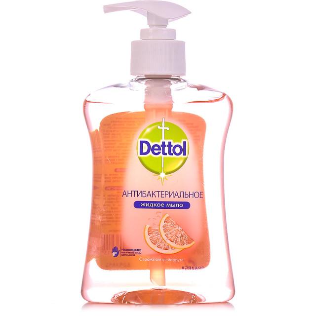 Деттол мыло жидкое антибакт. грейпфрут 250мл купить в Москве по цене от 159 рублей