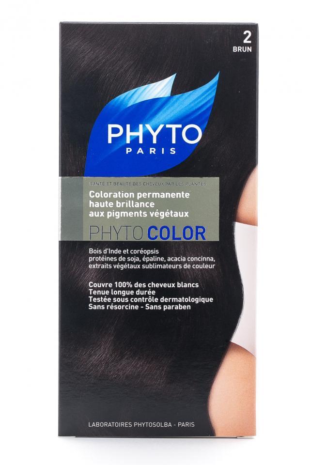 Фитосольба Фитоколор краска для волос т.2 брюнет купить в Москве по цене от 0 рублей