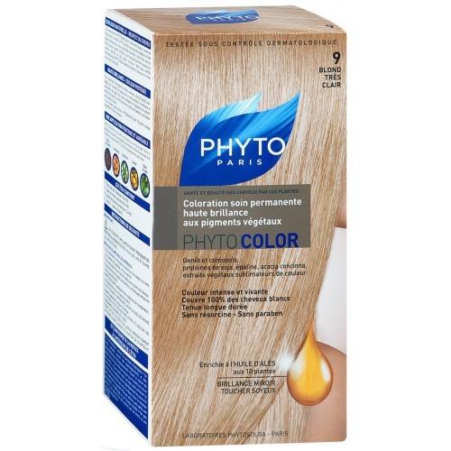 Фитосольба Фитоколор краска для волос т.9 очень светлый блонд купить в Москве по цене от 1700 рублей