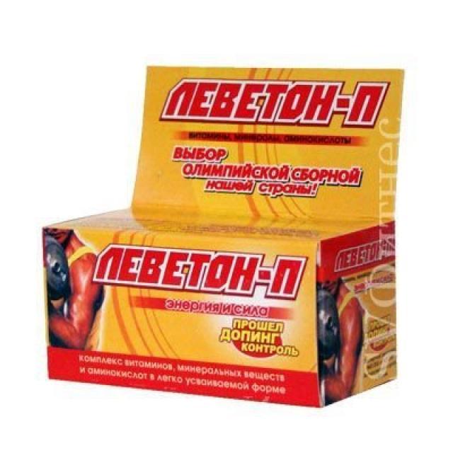 Леветон П таблетки 500мг №60 купить в Москве по цене от 0 рублей