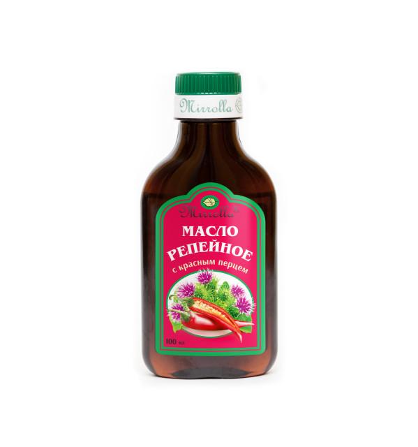 Репейное масло Красный перец 100мл купить в Москве по цене от 61 рублей