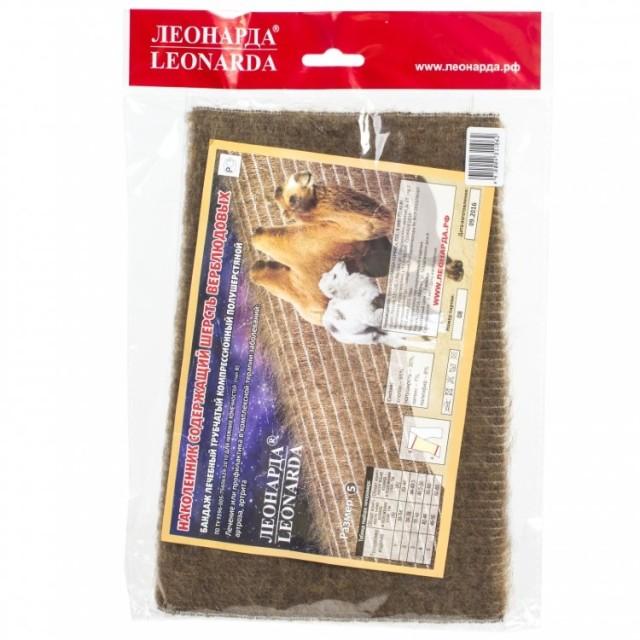 Леонарда наколенник из верблюжьей шерсти р.4 купить в Москве по цене от 258 рублей