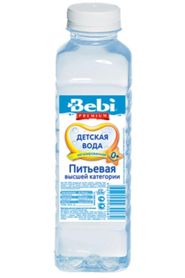 Беби вода питьевая для детей от 0мес.0,5л купить в Москве по цене от 0 рублей