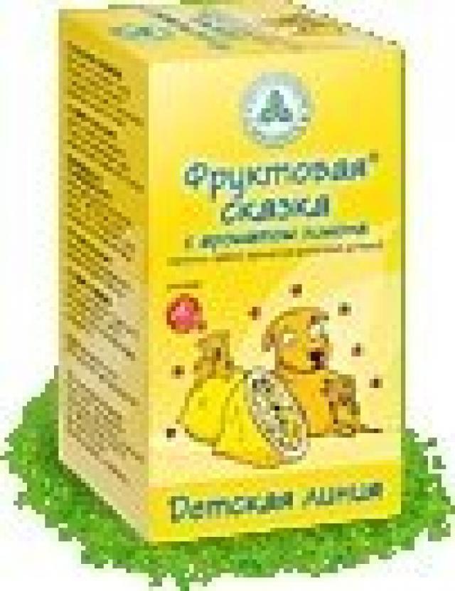 Фруктовая сказка чай детский Лимон 2г №20 купить в Москве по цене от 0 рублей