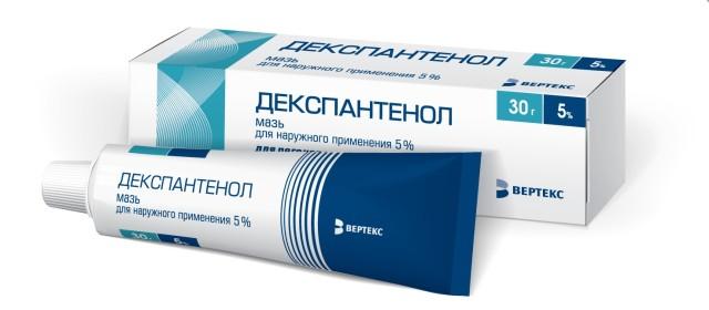 Декспантенол мазь 5% 30г купить в Москве по цене от 173 рублей