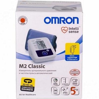 Омрон тонометр автомат M2 Classic с адаптером/универс. манжета купить в Москве по цене от 4560 рублей