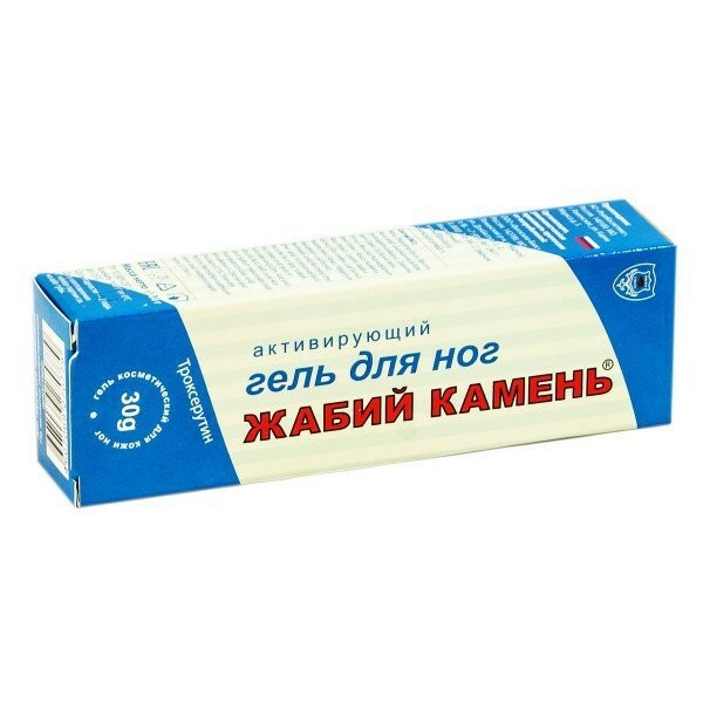 Жабий камень гель для ног с глюкозамином 30мл купить в Москве по цене от 54 рублей