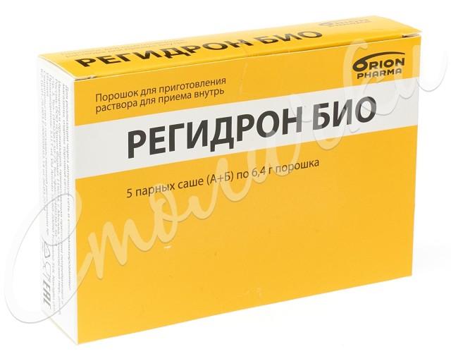 Регидрон Био порошок для приготовления раствора внутрь саше 6,4 г №5 купить в Москве по цене от 558 рублей