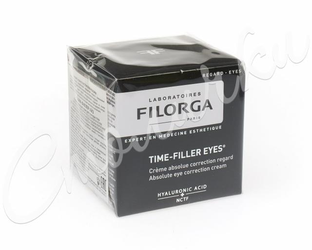 Филорга Тайм-Филлер Айз крем для контура глаз 15мл купить в Москве по цене от 3530 рублей