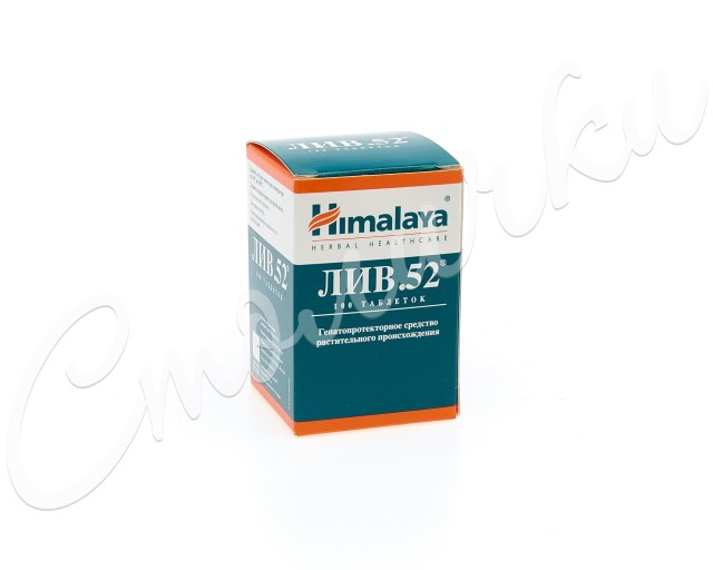 Лив-52 таблетки №100 купить в Москве по цене от 376 рублей