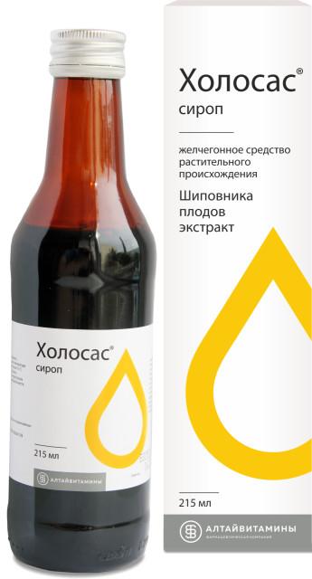 Холосас сироп 300г (215мл) купить в Москве по цене от 154 рублей