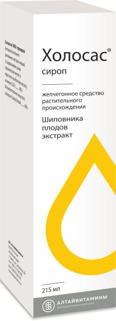 Холосас сироп 300г (215мл) купить в Москве по цене от 130 рублей