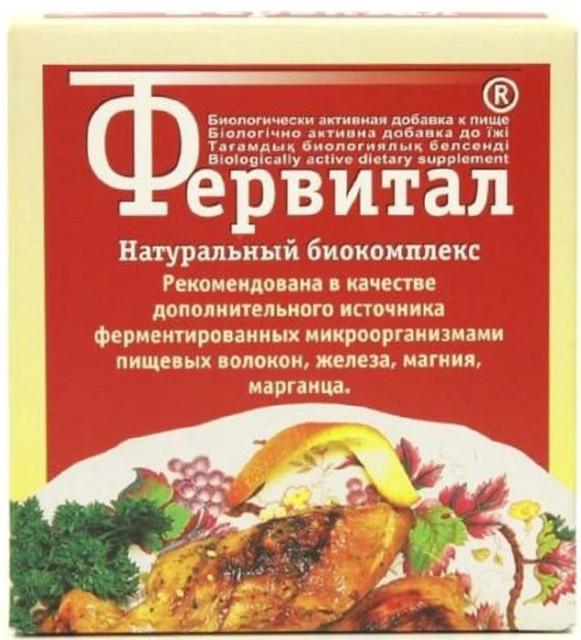 Фервитал порошок 60г купить в Москве по цене от 162 рублей