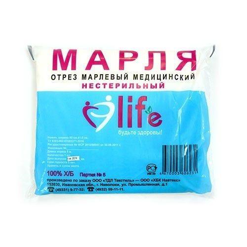 Марля 3м х 90см купить в Москве по цене от 91 рублей