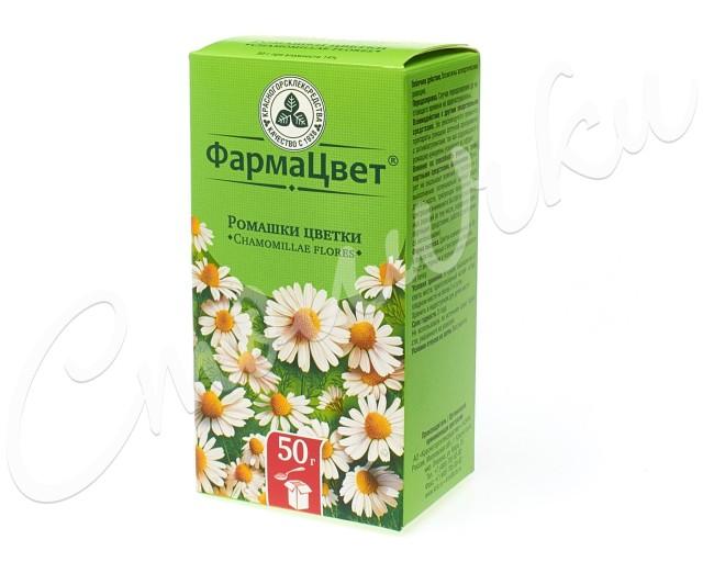 Ромашка аптечная цветки 50г купить в Москве по цене от 65 рублей