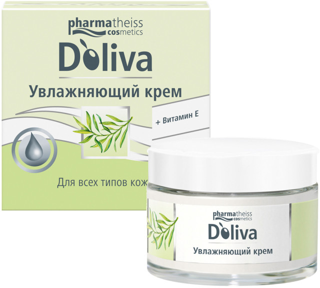 Долива крем для лица для сухой и чувствительной кожи 50мл купить в Москве по цене от 1090 рублей