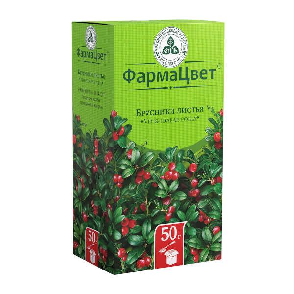 Брусника листья 50г купить в Москве по цене от 82 рублей