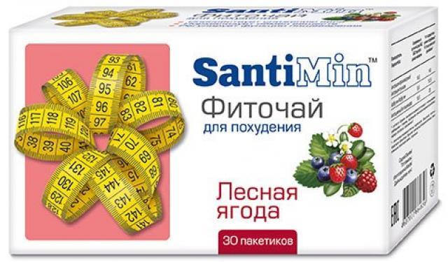 Сантимин чай Лесные ягоды ф/п 2г №30 купить в Москве по цене от 90 рублей