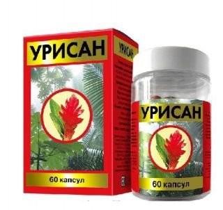 Урисан капсулы №60 купить в Москве по цене от 794 рублей