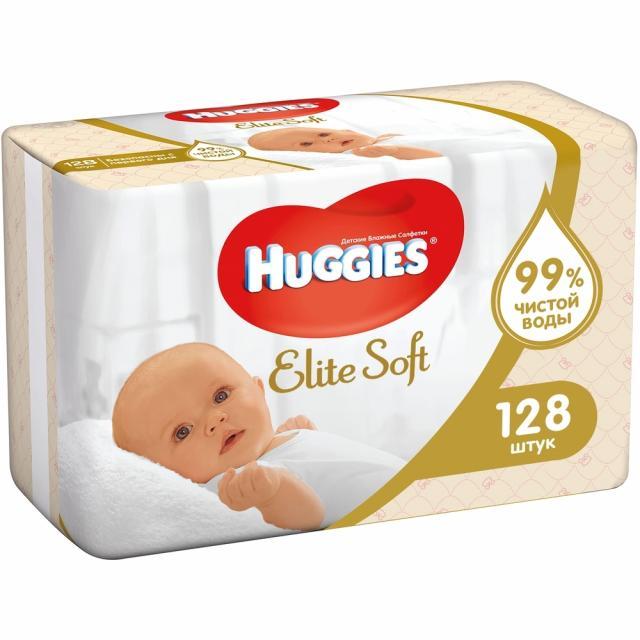 Хаггис салфетки влажные Элит Софт №128 купить в Москве по цене от 319 рублей
