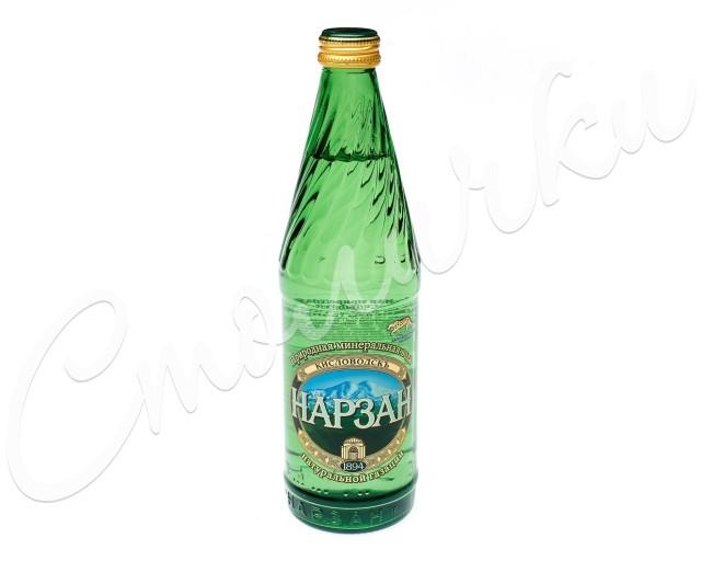 Вода минеральная Нарзан Золотой 0,5л стекло купить в Москве по цене от 66 рублей