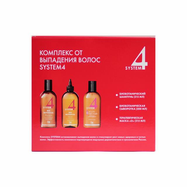 Система 4 комплекс против выпад.волос шампунь 215мл+маска 215мл+сыворотка 200мл купить в Москве по цене от 3940 рублей