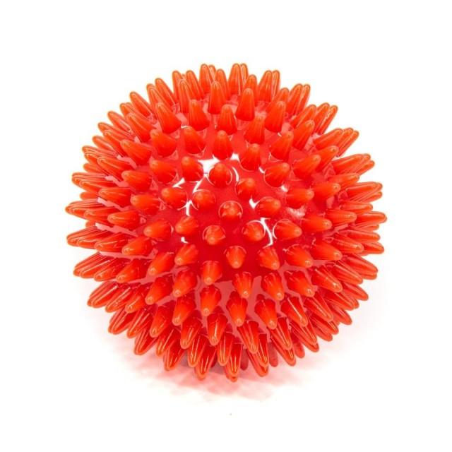 Мяч массаж. 9см красный (ежик) L0109 купить в Москве по цене от 217 рублей