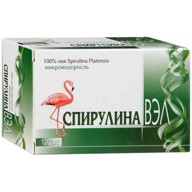 Спирулина Вэл таблетки №120 купить в Москве по цене от 320 рублей