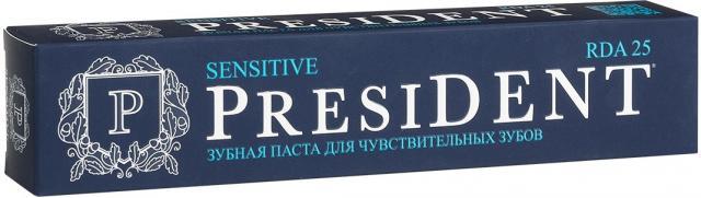 Президент зубная паста Сенситив 75мл купить в Москве по цене от 229 рублей