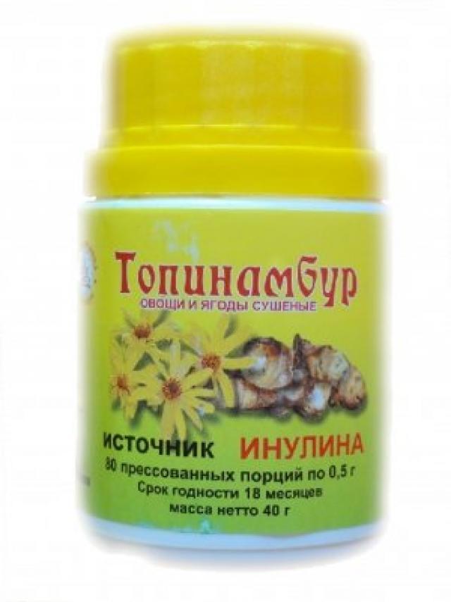 Топинамбур таблетки 500мг №80 купить в Москве по цене от 84 рублей